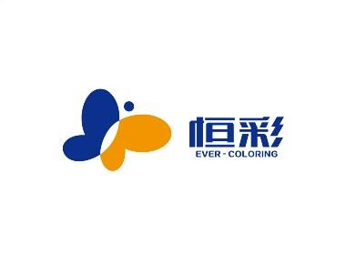 恒彩材料品牌形象设计