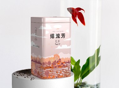茶葉包裝設計,來自西北深山的玉葉-厚啟設計原創
