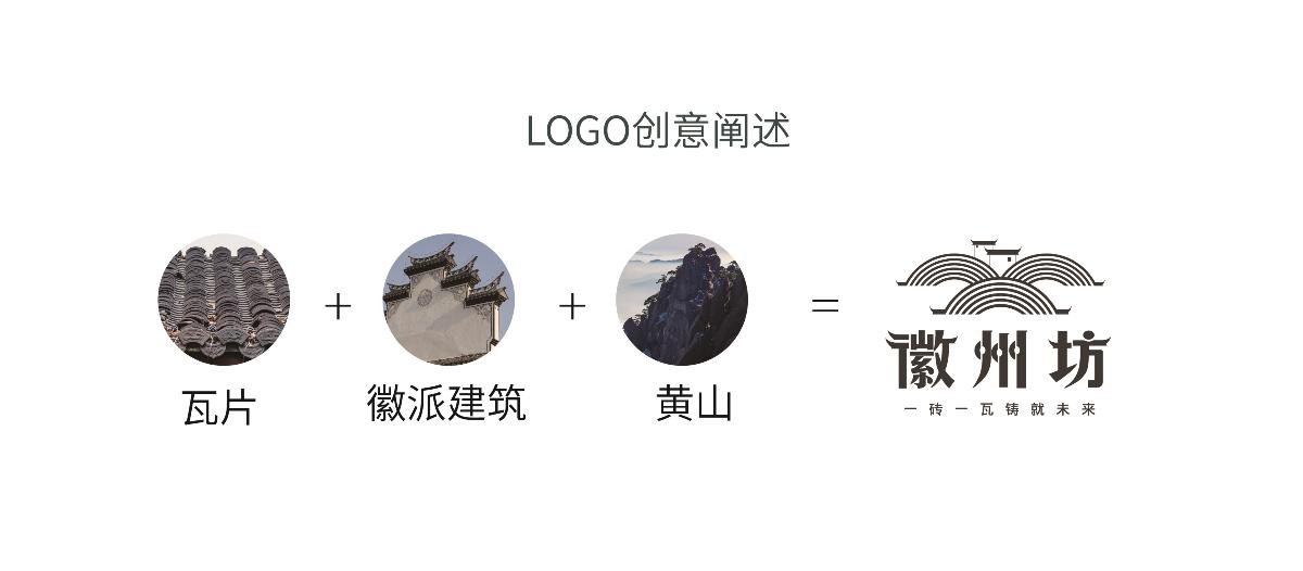 徽州坊logo练习