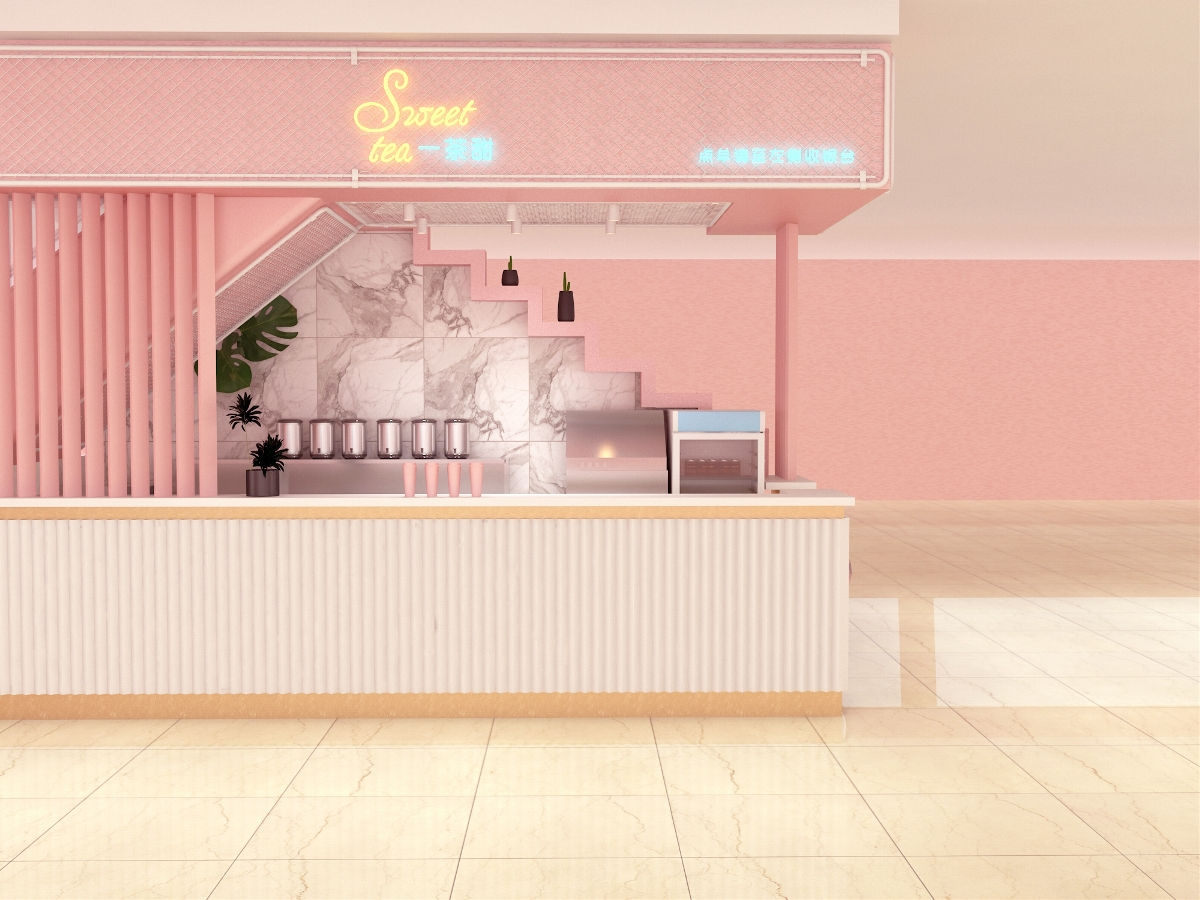 一茶甜茶饮空间设计 | 商业空间设计