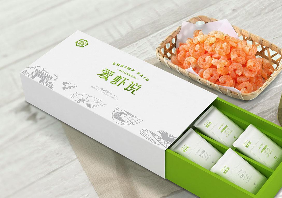 北京壹峰创新出品爱虾说海产品策划设计全案