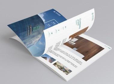 【Morse design】建筑行业画册-飞机稿