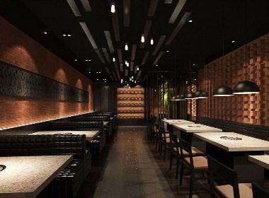 【喜乐多自助餐厅】—成都餐厅装修/成都自助餐厅设计