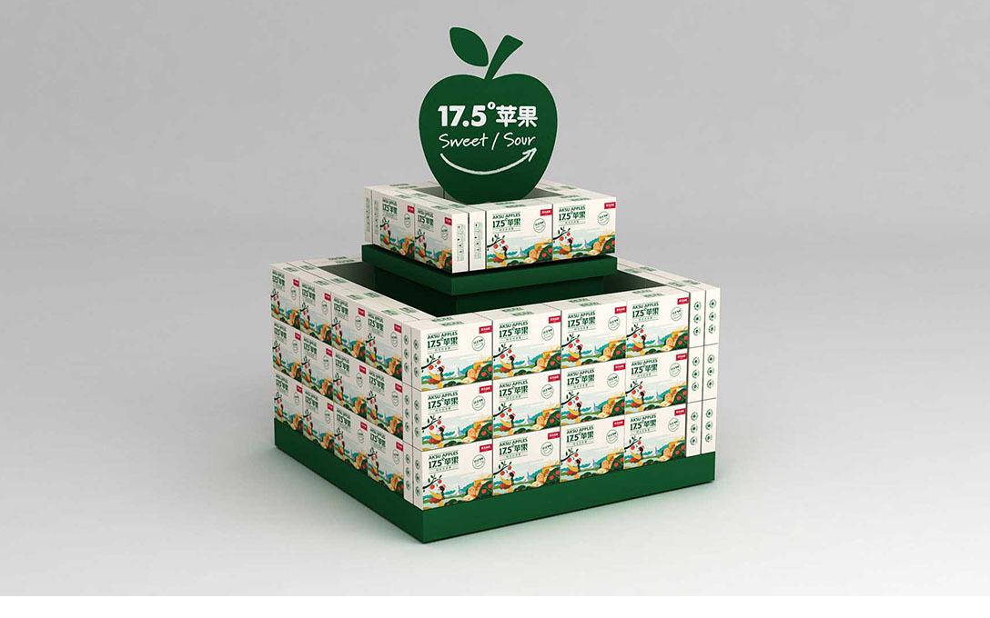 农夫山泉17.5苹果 全案策划
