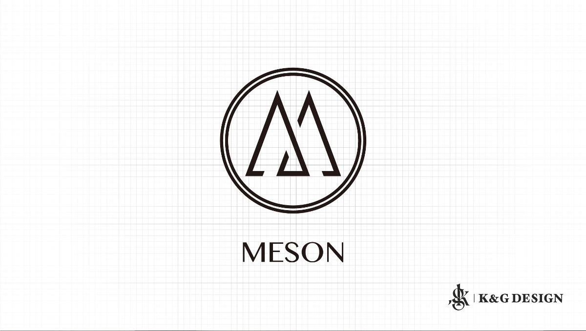 美发沙龙品牌Logo设计-MESON
