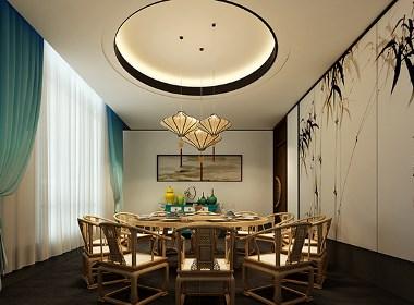 【半亩田餐厅】—成都餐厅装修/成都特色餐厅设计