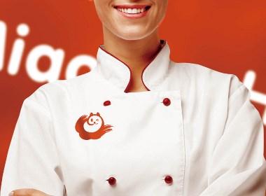 喵呼云厨品牌Logo设计