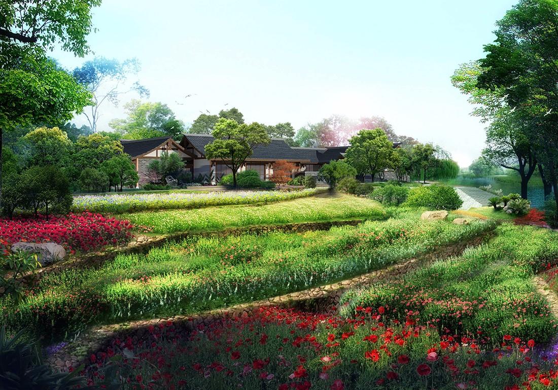 成都农业公园设计/田园综合体规划/农家乐设计公司/度假村整体规划