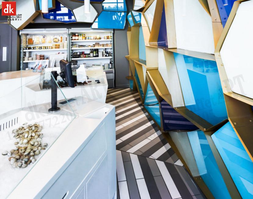 自助餐台设计方案、自助餐台尺寸、自助餐台高度
