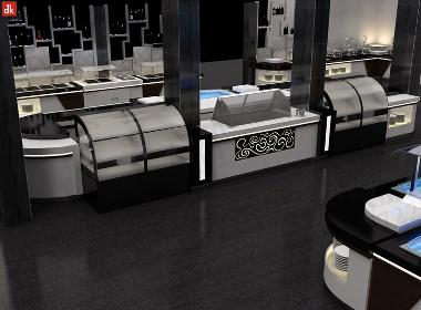 迪克森自助咨客餐台 布菲台定制自助餐台设备 移动餐台设备定制