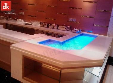 迪克餐厨设备定制自助餐台酒店餐饮家具 自助餐台设计定制大理石
