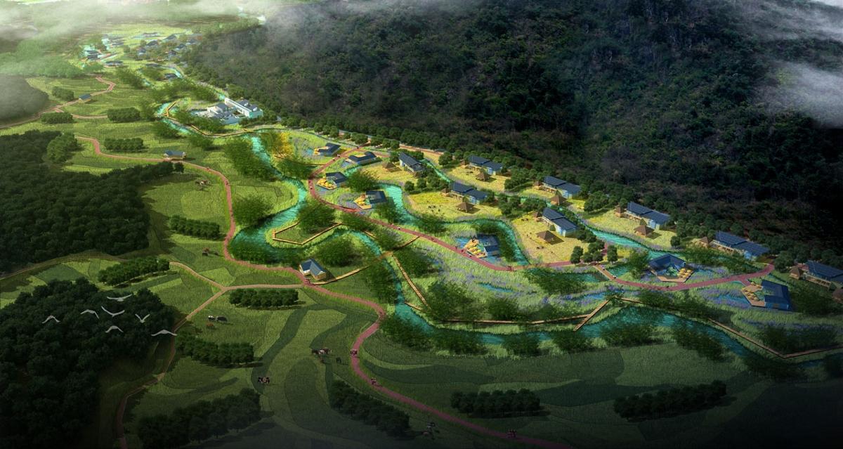 成都花卉旅游规划设计/传统村落旅游/森林公园综合开发