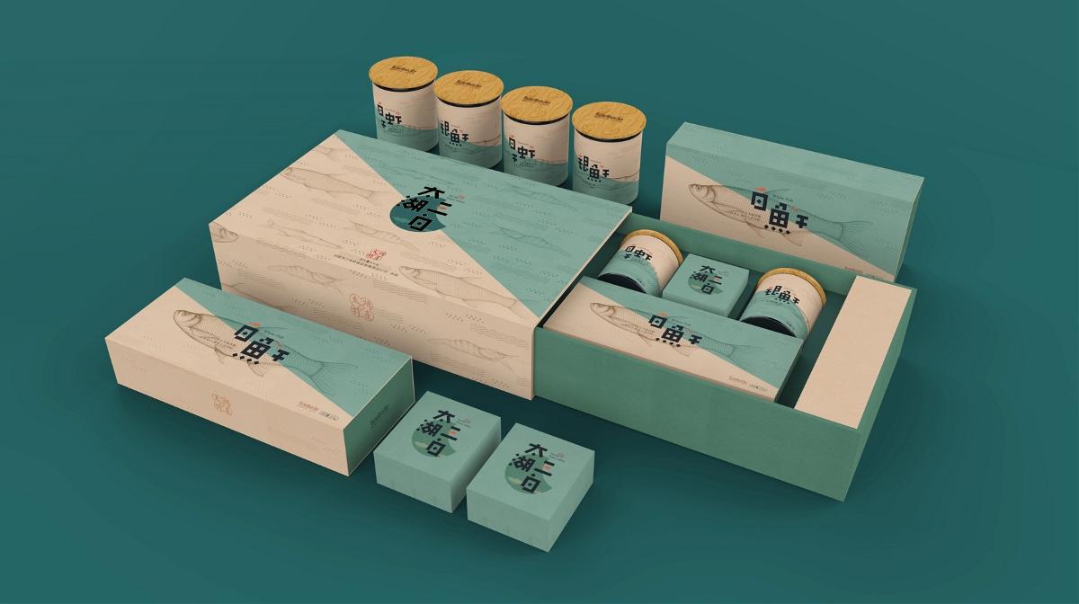 太湖三白丨包装设计