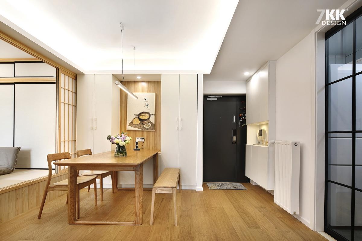 【简约日式】冬日阳光,鸡肋小次卧改成多功能榻榻米房间