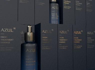哈尔滨包装/AZUL蓝金系列包装设计