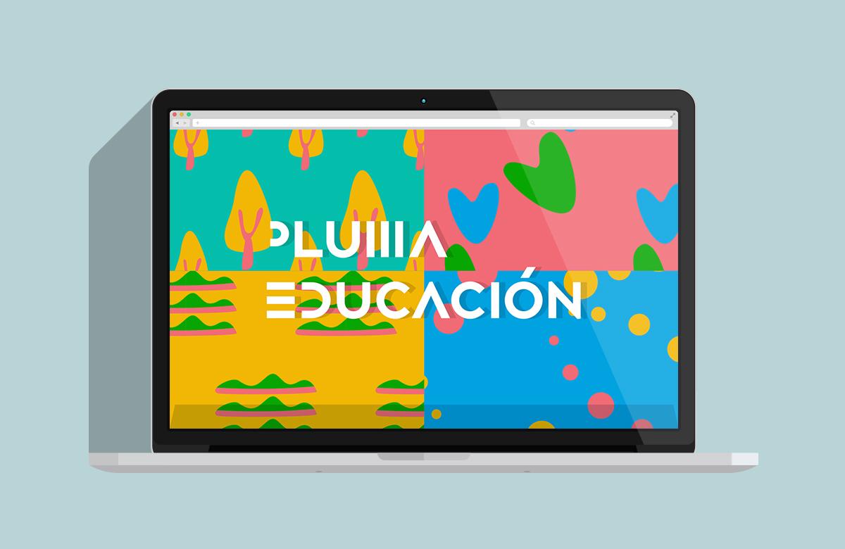 哈尔滨VI设计/K12教育品牌PLUMA EDUCACION视觉形象设计