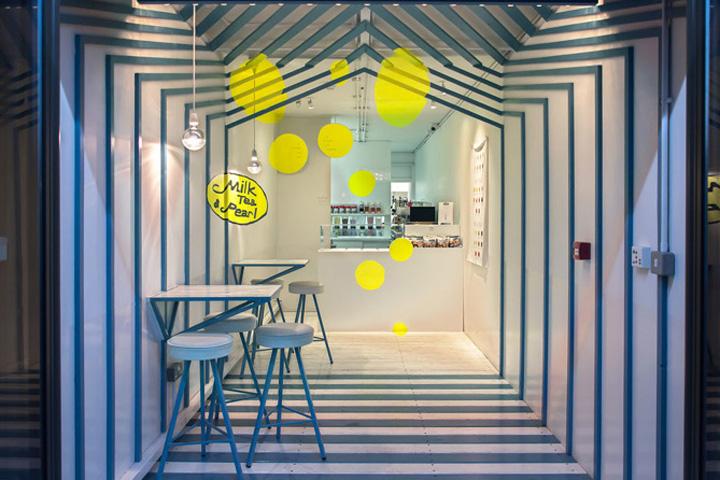 成都奶茶店设计/成都奶茶店装修/成都奶茶店设阿克苏房屋设计公司图片