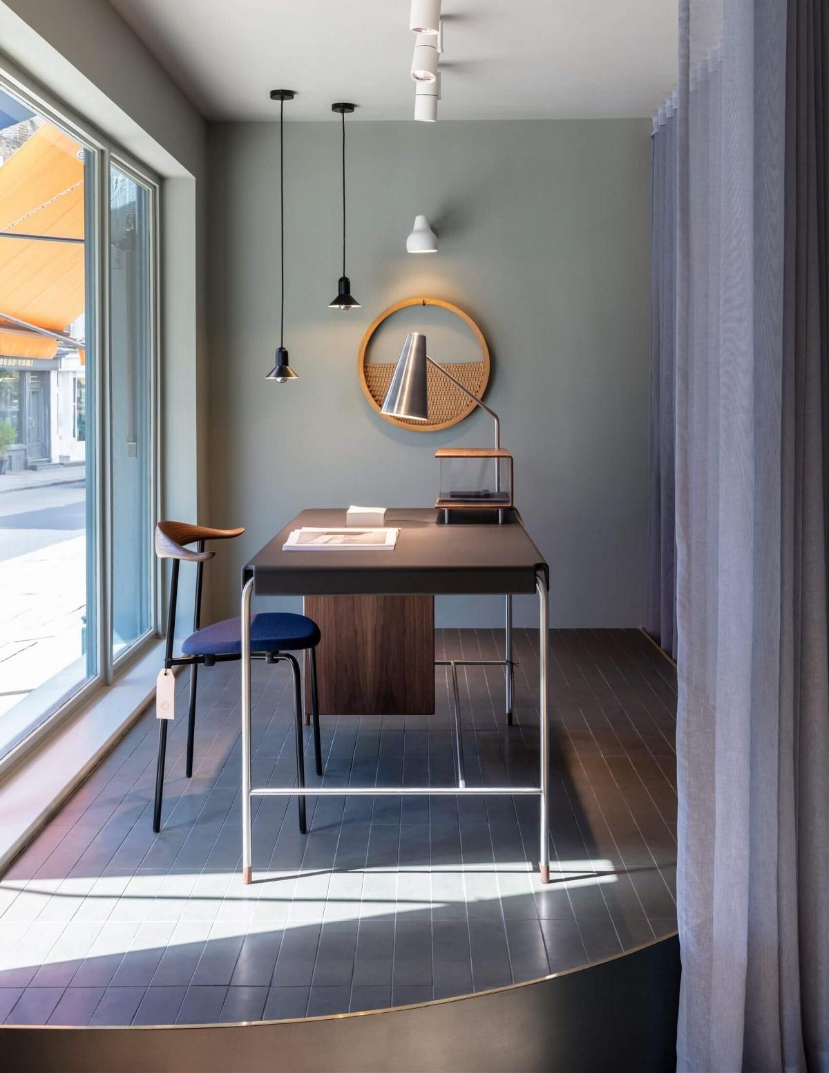丹麦家具品牌CARL HANSEN&SON伦敦展厅设计