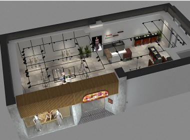 印巴文化品牌空间设计