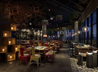 【花样年干锅】—成都干锅店装修/成都餐厅设计
