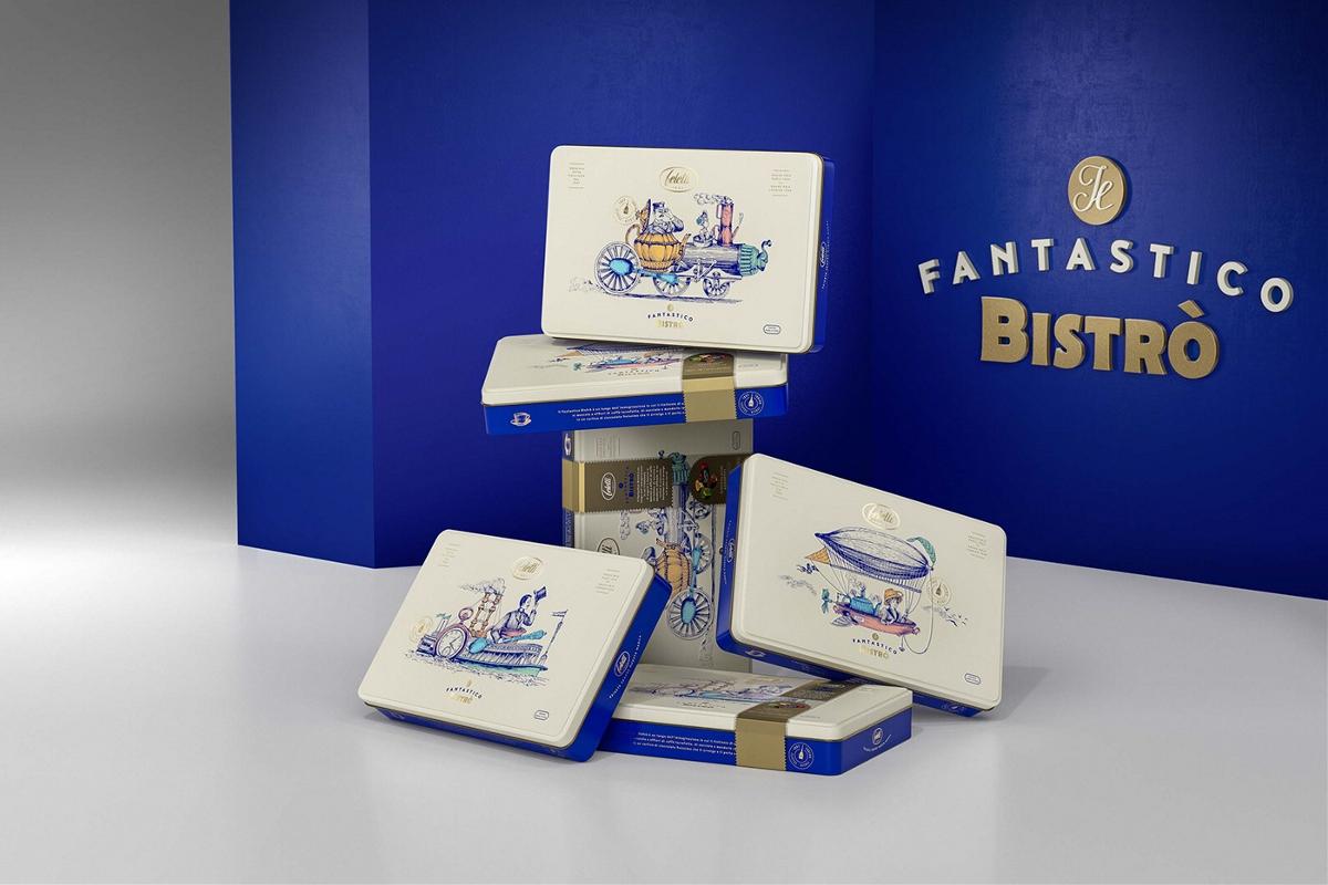 都灵Fantastico Bistrò公司Feletti 1882巧克力品牌重塑