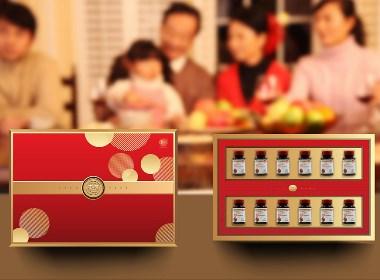 中粮集团番茄红素礼盒设计