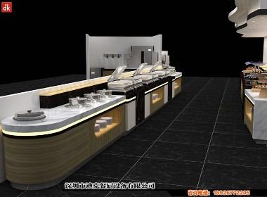 移动布菲台迪克餐厨艺术自助餐厅自助餐台设计制作
