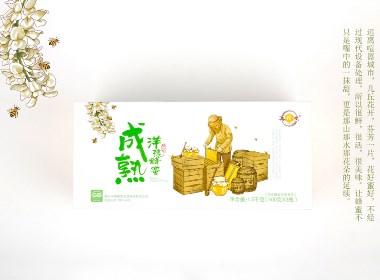 百纳案例鉴赏 | 成熟蜂蜜·集蜂堂品牌策划案例