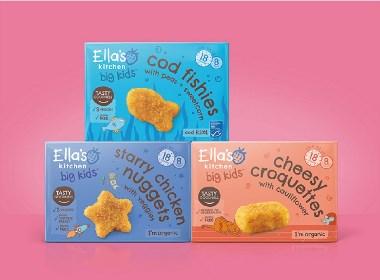 晨狮设计观点  丨  属于各年龄段的儿童食品包装