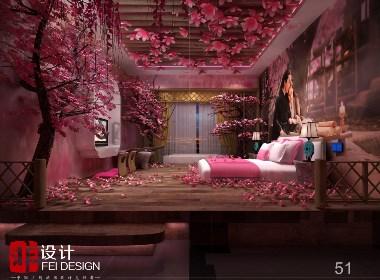 情侣酒店设计案例——荣华境情侣主题酒店