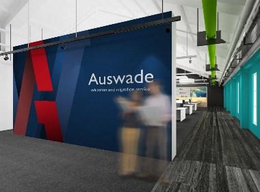 留学移民品牌Logo设计-澳纬留学移民