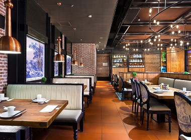 【雅客餐厅】—成都餐厅装修/成都餐厅设计