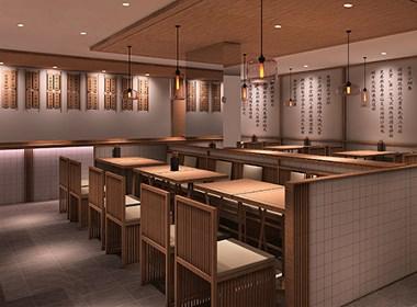 连云港状元面馆连锁餐厅品牌空间设计