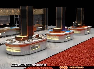 迪克餐厨设备酒店自助餐台定制 移动式自助餐台组合式自助餐台定制布菲台设计大理石可移动