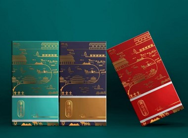 产品包装|泾渭茯茶之御品茯香茯茶包装设计、茶叶盒子