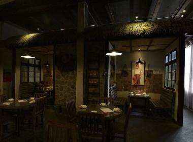 【红色年代】—成都餐厅装修/成都餐厅设计