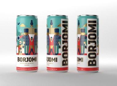 BORJOMI飲料包裝設計