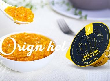 出口辣椒酱包装设计 -青柚设计原创
