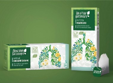 晨狮设计观点  丨  健康植物茶饮品包装设计