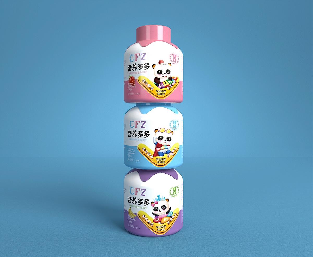 旺仔营养多多+徐桂亮品牌设计