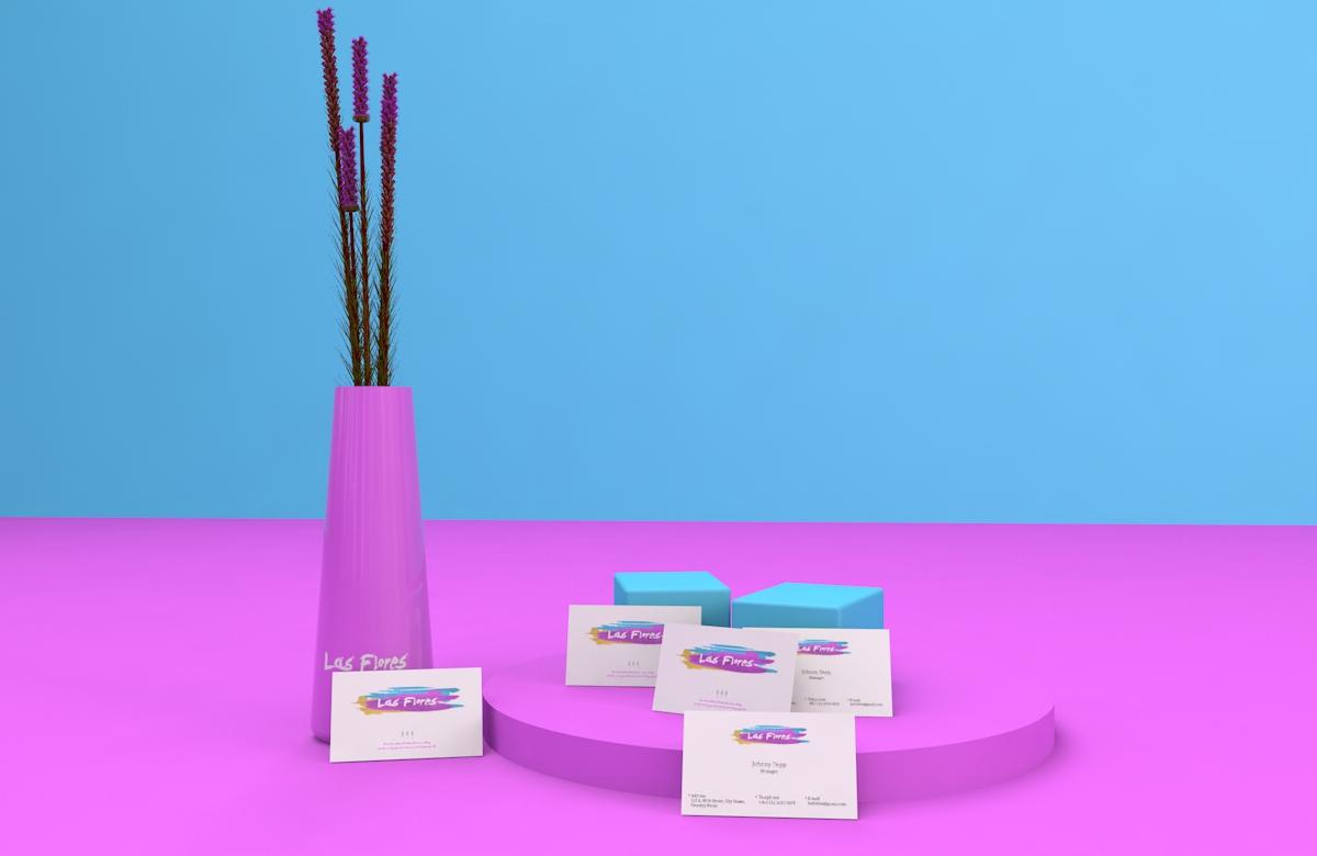 Las Flores 花店视觉形象设计