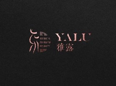 雅露蕾丝品牌塑造【雅露蕾丝标志设计】-优华氏品牌设计出品