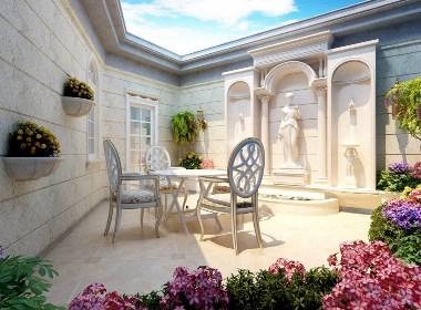 东郊罗兰别墅项目装修欧美古典风格设计!