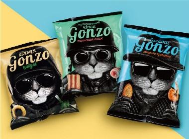 晨狮设计观点  丨  酷炫零食包装设计
