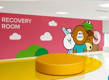 儿童医院  医疗保健  北京导视设计  北京空间设计  北京设计公司