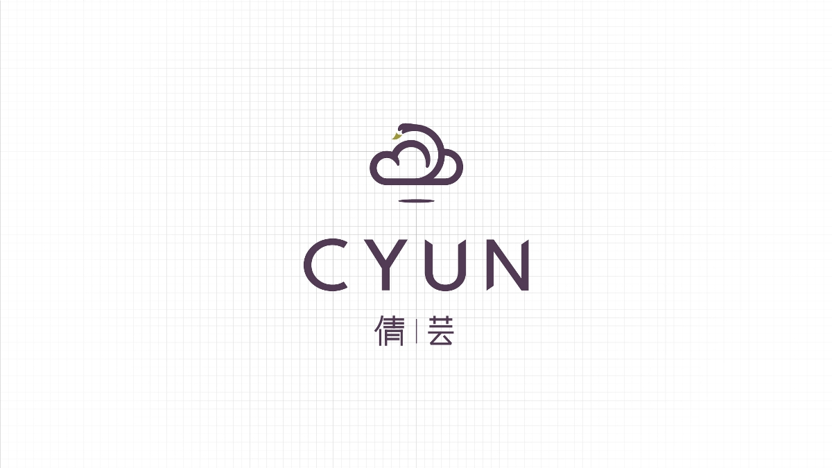 羽绒服品牌Logo设计-倩芸