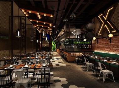 【初心西餐厅】—成都餐厅装修/成都餐厅设计