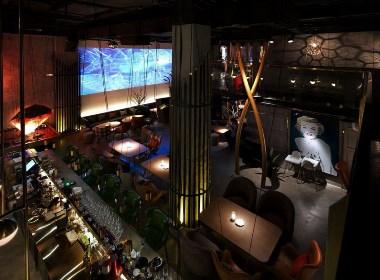 【ST西餐厅】—成都餐厅装修/成都餐厅设计