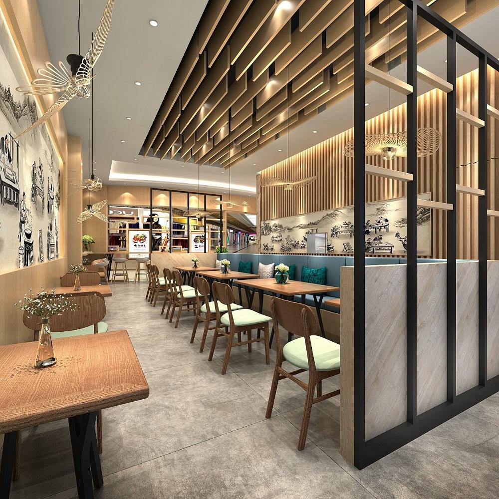 德阳快餐厅装修设计-卓巧-德阳快餐厅注意装修网页设计字体下面代码虚线图片