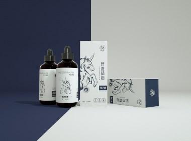 梵滋精油包装设计by-毒柚